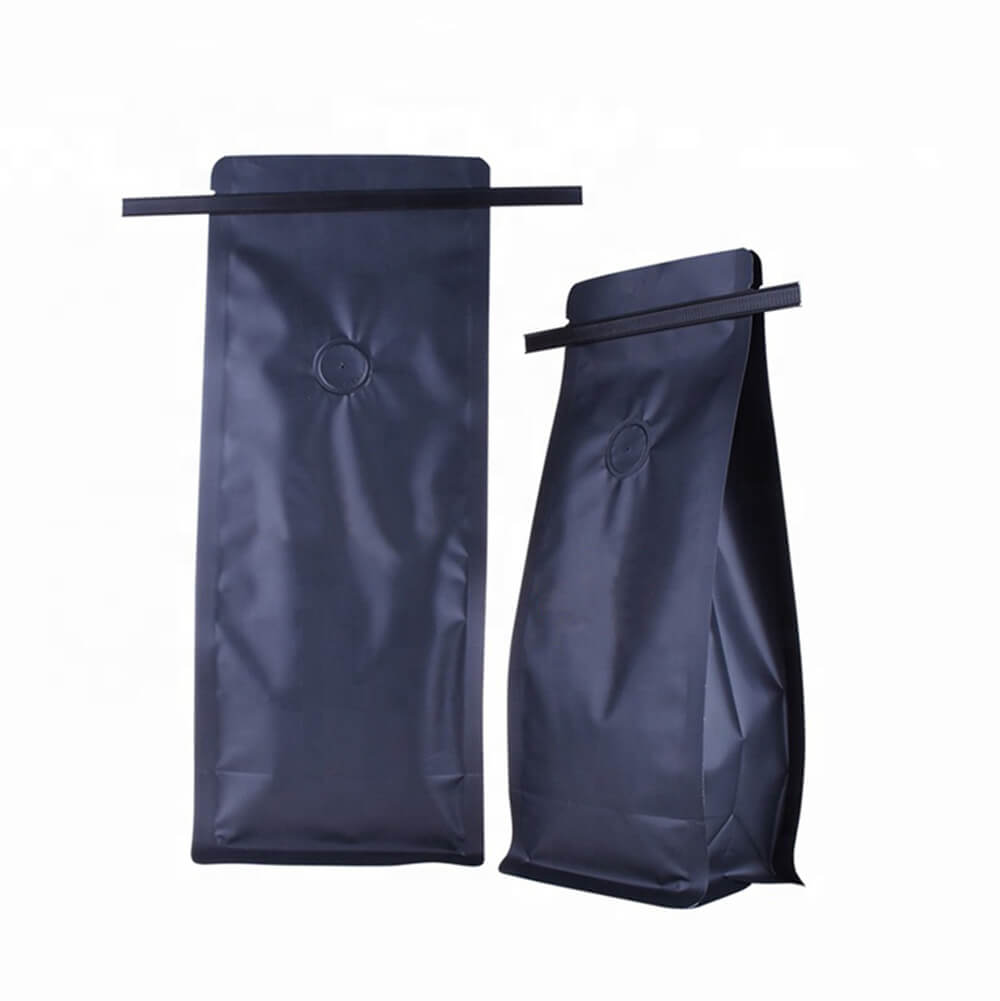 TIN TIE COFFEE BAGS WITH VALVE