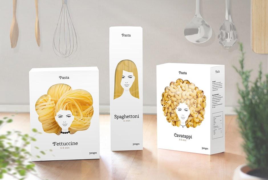 creative pasta packaging